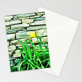 Waiting in the drive-thru. Stationery Cards
