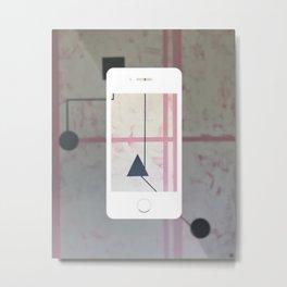 Sum Shape - iPhone graphic Metal Print