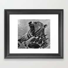 Bear Art Framed Art Print