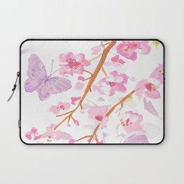butterflies watecolor Laptop Sleeve