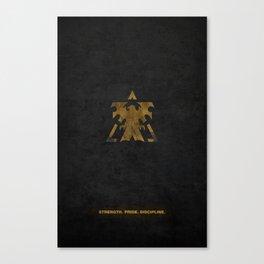 Star Craft - Terran Canvas Print