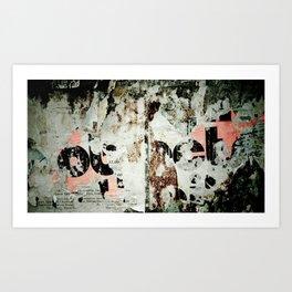 Wall #3 Art Print