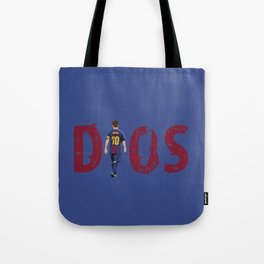 Dios- a tribute to Messi Tote Bag