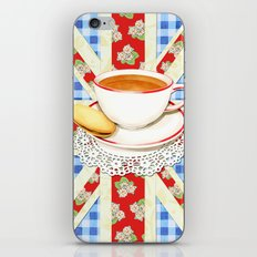Union Jack and a Cup of Tea iPhone & iPod Skin
