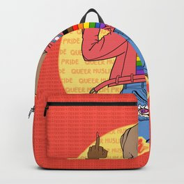 fuck your homophobia Backpack