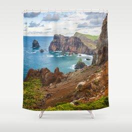 Amazing Madeira Shower Curtain