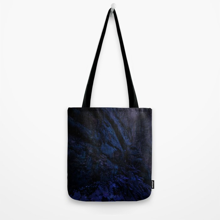 Enchanted Midnight Forest Wall Tote Bag