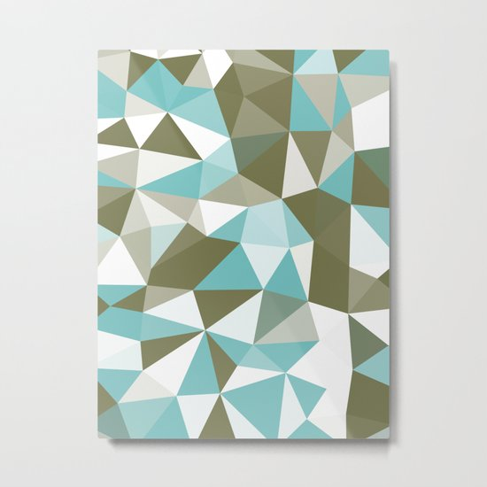 Seaweed Tris Metal Print