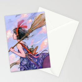 Windy Witch Stationery Cards