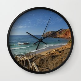 Praia do Amado, Portugal Wall Clock