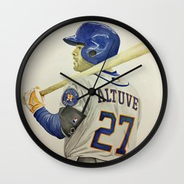 Altuve Wall Clock