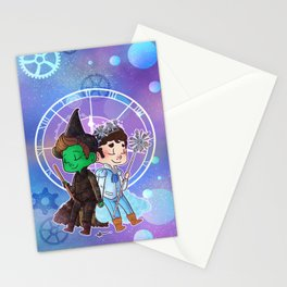 Defying Gravity Stationery Cards