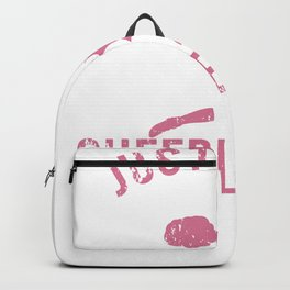 Just A Girl Who Loves Cheerleading Girls Dance Backpack