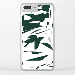 Snippets Clear iPhone Case