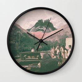 Photobomb! Wall Clock