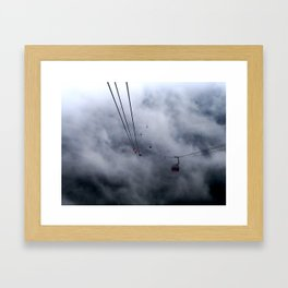 Direct access to outer space? Framed Art Print