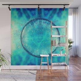 Acid Drop - Aqua Wall Mural