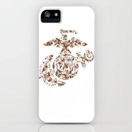Proud Marine Mom iPhone Case