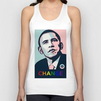 obama Tank Tops featuring Obama LGBT by HUMANSFOROBAMA