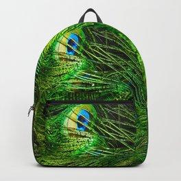 Peacock Glitter Backpack