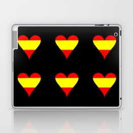 Flag of spain 5-spain,espana, spanish,plus ultra,espanol,Castellano,Madrid,Barcelona Laptop & iPad Skin