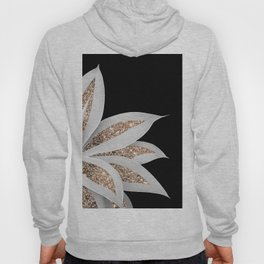 Agave Finesse Glitter Glam #6 #tropical #decor #art #society6 Hoody