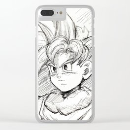 The Boy w/ All the Power Clear iPhone Case
