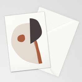 abstract minimal 39 Stationery Cards