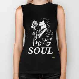 "James Brown ""The Godfather Of Soul"" Biker Tank"