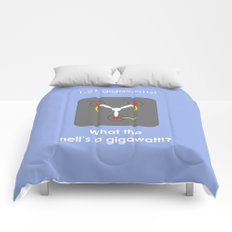 Back to the Future - Flux Capacitor Comforters