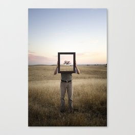 In My Mind Canvas Print