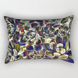 Floral tribute [pebble mix] Rectangular Pillow