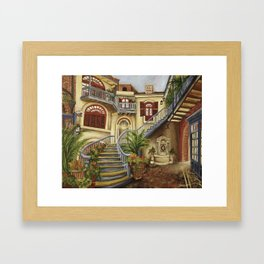 Court of Angels Framed Art Print