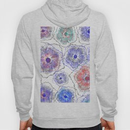 Floral abstract 97 Hoody