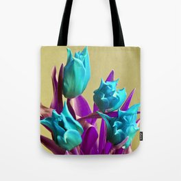 MAGIC PINK TULIPS Tote Bag