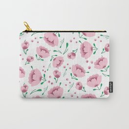 Pretty pink florals Carry-All Pouch