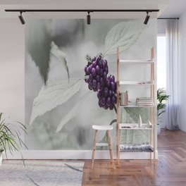 Purple Berries  Wall Mural