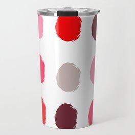 Fancy polka dot  Travel Mug