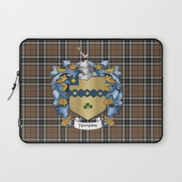 Thompson Crest and Tartan Laptop Sleeve