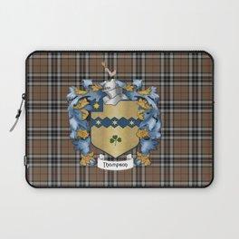 Thompson Crest and Tartan Laptop Sleeve