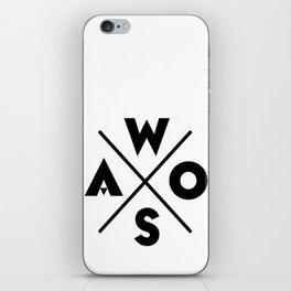 WOSA - World of Street Art iPhone Skin