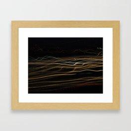 nightshot  Framed Art Print