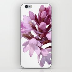 Pink Orchid Wildflower iPhone & iPod Skin