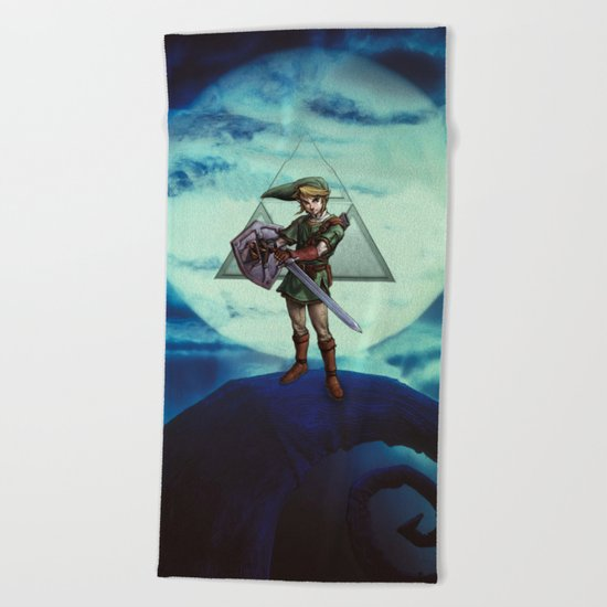 Legend of Zelda Beach Towel