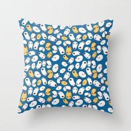 Sea Bunny Slug Throw Pillow