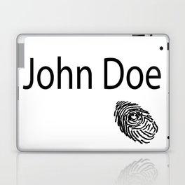 John Doe FIngerprint Laptop & iPad Skin