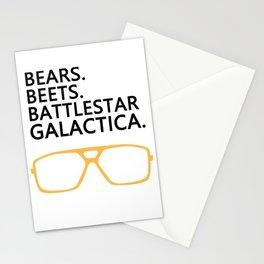 Bears,Beets,Battlestar Galactica Stationery Cards