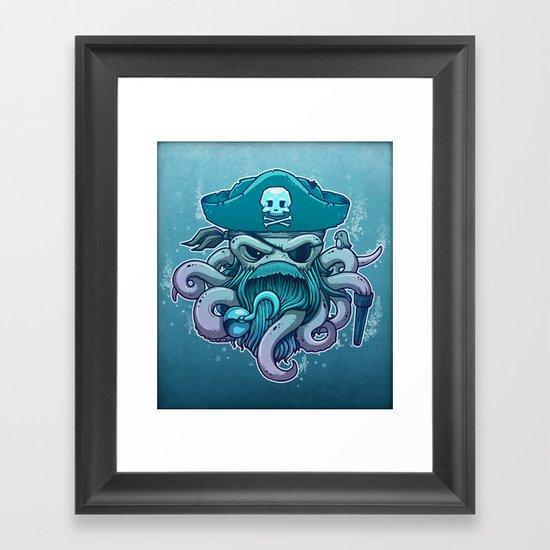 The Legendary Arrrctopus Framed Art Print
