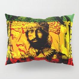 Haile Selassie Lion of Judah Pillow Sham