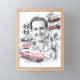 Alberto Ascari Framed Mini Art Print